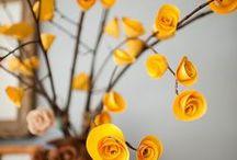 PAPER FLOWERS-FLORES DE PAPAEL / by ana belen rivas alvarez
