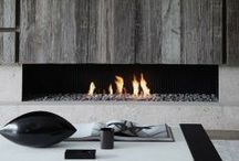 fireplace・fire pit・stove / by Naoko Helen Oshika