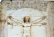 Leonardo Da Vinci:study & esquisse / by Naoko Helen Oshika