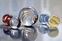 marble・glass paperweight / by Naoko Helen Oshika