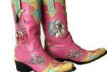 Cowgirl Boots - The Boot-Scootin' Kind / Urban cowgirls, real cowgirls - who cares?  I like cowgirl boots period.  For dancing, for barrel racing or just for a fashion statement.  I love them all. / by Karenjane Justice