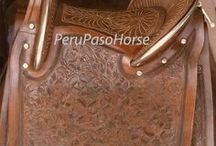 Our Horse Saddles / We are producers and exporters of saddles and tack for Peruvian Paso Horse, and American horses. / by Peru Paso Horse
