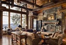 I Love Log Homes / by Lynne Hess