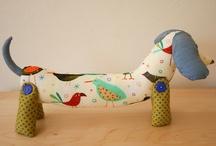 Bonecos  de pano / by Stela Maris Cardoso Effting Stelart
