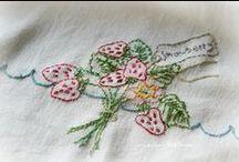 Embroidery / Puntos bordado y patrones / by ines villa