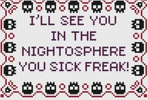 Cross Stitch - Nerdy Funny  / by Kristyn Marie