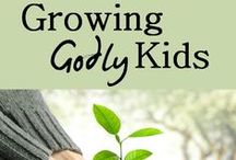 Growing Godly Kids / A place where we can share resources and tools for leading kids to Christ. Sharing children's bible studies, lesson plans, activities, books and encouraging one another on to make Jesus famous to our kids.  / by Megan Spires