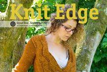 Knit Edge magazine / by Cooperative Press