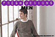 Fresh Designs: Men / Knitting patterns from the book Fresh Designs: Men, edited by Shannon Okey. Fresh Designs is a series of pattern books by emerging fiber arts designers from all over the world. / by Cooperative Press