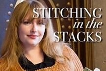 Stitching in the Stacks / Patterns from the book Stitching in the Stacks: Librarian Inspired Knits. Edited by Sarah Barbour. This book celebrates that connection, offering 30 exquisite designs inspired by librarians (real and fictional), library architecture, cataloging systems, and sometimes the books themselves. Each pattern comes with its own story, making this book as fun to read as it is to knit from. / by Cooperative Press