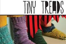 Tiny Treads by Joeli Caparco / Knitting Patterns from the book Tiny Treads by Joeli Caparco. cooperativepress.com / by Cooperative Press
