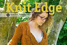 Knit Edge Magazine, Issue Four / Patterns from Knit Edge Magazine, Issue Four, knitedgemag.com. Published in September 2013 / by Cooperative Press