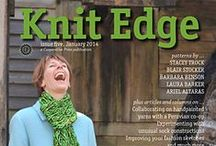 Knit Edge Magazine, Issue Five / Patterns from Knit Edge Magazine, Issue Five, knitedgemag.com published in January 2014 / by Cooperative Press