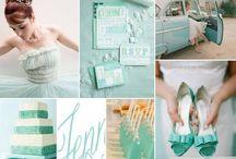 wedding: color palettes / by Denise Fuss