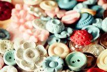 i love buttons / buttons buttons buttons buttons butttons. i loooovvvve my button box!! / by Rachel Smith