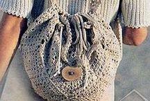 Crochet Bags/Baskets/Purses / by Cheryl Martin