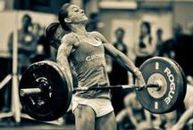 Let's move weight // CrossFit / by Ally Partain