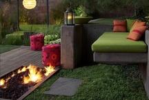 Playin' in the backyard / Dream Ideas for the backyard, garden, patio, porch, etc... / by Melissa Richard