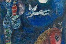 Art/Marc Chagall / Artwork by Marc Chagall / by Gloria Fraser