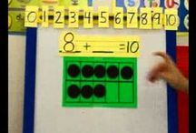 Math: Composing and Decomposing Numbers  / Solving problems games, strategies, number lines, and KWC problems! / by Lisa Sanford