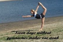 Gymnastic Life / Gymnastics pins and very little cheer pins / by Lauren Hendry