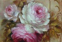 vintage roses / by Helen van der Linden