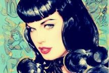 Bettie Page  / Everything Bettie Page  / by Zoeplum ☆*`*♥ Kitty