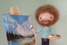 Bob Ross / My favorite art teacher. / by Pat Martinez-Lopez