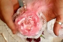 Flower Tutorials 2012 / Another collection of stunning flowers all hand-crafted by me :) / by Fiona Jennings