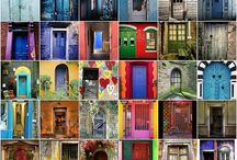Love doors / Any kind, any where interesting, historic, story telling doors / by Josie Martin