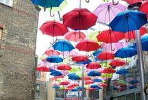 Umbrella's / Love them / by Josie Martin