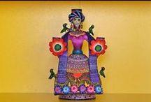 dia de los muertos/ mexican artwork / by Charlotte Hansen