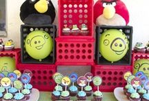 Angry birds party ideas / by Joann Holt