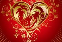 Colors: Red and Gold / by @~`~,~~= ♥ Laura ♥ @~`~,~~=