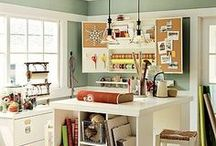 Home: Craft & Gift Wrapping Room  / by A Little Bit Sassy
