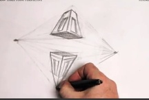 Three Point Perspective / Simple, but effective tutorial on how to draw objects in Three Point Perspective. / by How To Draw