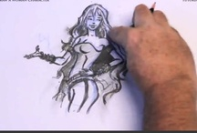 How to Draw a Woman / Simple and easy to understand free online tutorial on how to draw woman's character.  / by How To Draw