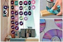 Idées recyclage / by Crea-Style & Silhouette