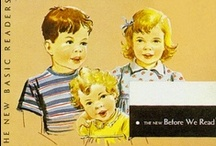 Fun with Dick and Jane and Sally and Puff / All about vintage children, kids books, illustrations and other things related to retro child's play. / by Digital Dorkette Dolls