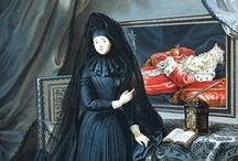Mourning Girl / by Digital Dorkette Dolls
