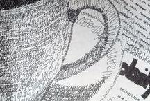 Doodles - Garabatos / me encanta jugar con la lapicera mientras hablo por teléfono  / by Flavia Gastaldi