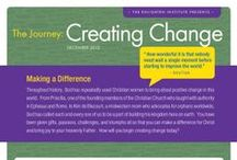 The Journey: Creating Change / The Journey is a fun and educational independent study designed to help Christian women find their purpose and enact positive change in their families, communities, and the world. If you're ready to gain understanding about your true identity and purpose, and if you're ready to enact positive change in your family, community, and the world, then you're ready for The Journey! / by The Enlighten Foundation