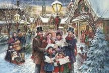 Dickens Christmas / GOD BLESS US EVERYONE / by peggy robinson