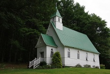 CHURCHES! / by Carol Newton