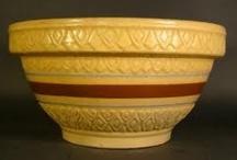 Yellow-Ware Pottery/Ironstone / by Carol Newton