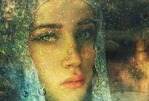 ✎ Art Fragile Faces / by Gadidjah ♥ Textiles - Let's be Creative