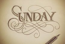 Hand Lettering & Drawings / by Nelleke Wagter