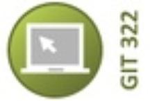 GIT 322 Web Site Design / Web site development techniques, design and standards. Prerequisites: GIT 221 Web Graphics Software. / by PSU Graphics & Imaging Tech Dept.