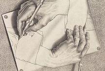 M. C. Escher / by Susan Knauff