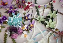 İgne Oyası oyasi needle knotted lace / by Muge Bozgeyik